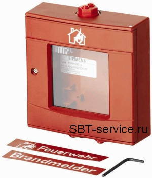 FDMH292-R Корпус красный, со стеклом и ключом